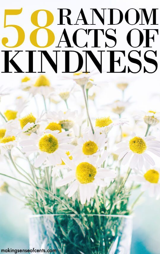 I believe that taking part in random acts of kindness is something more should spend time doing. The smallest gesture can make someone's day!