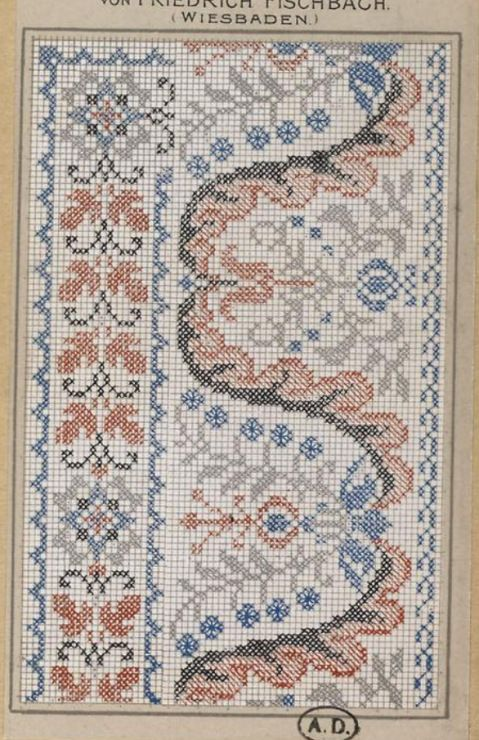 Gallery.ru / Фото #152 - старинные ковры и схемы для вышивки - SvetlanN