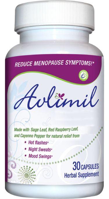 Herb supplement skin menopause