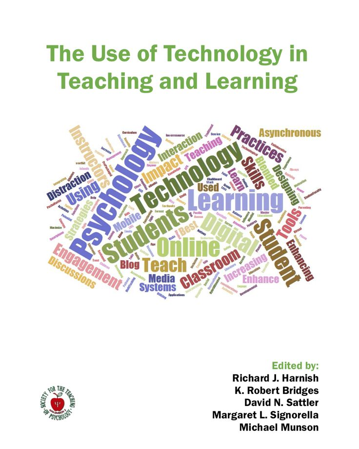 Society for the Teaching of Psychology - The Use of Technology in Teaching and Learning