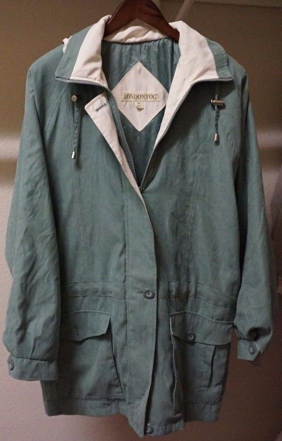 London Fog Men's Lightweight Jacket (Olive) | Size 1X | Men's Coat  | eBay