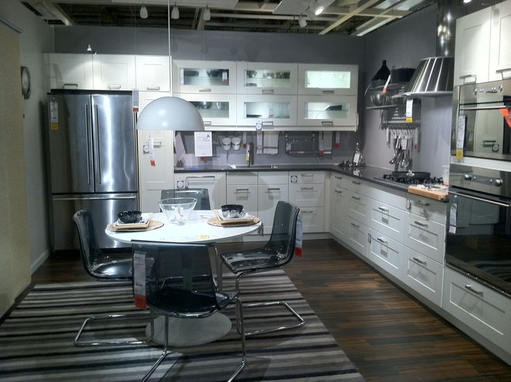 Ikea showroom kitchen love pinterest for Ikea kitchen gallery