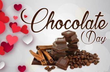 Happy Chocolate Day WhatsApp DP (Profile Pics)