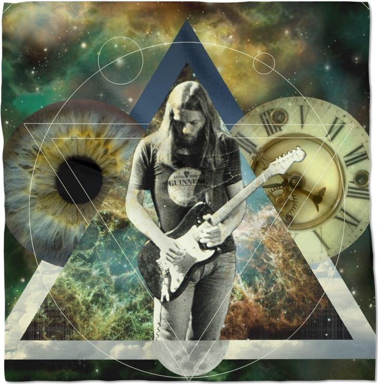 Gilmour ticking away the moments in 2020 pink floyd art