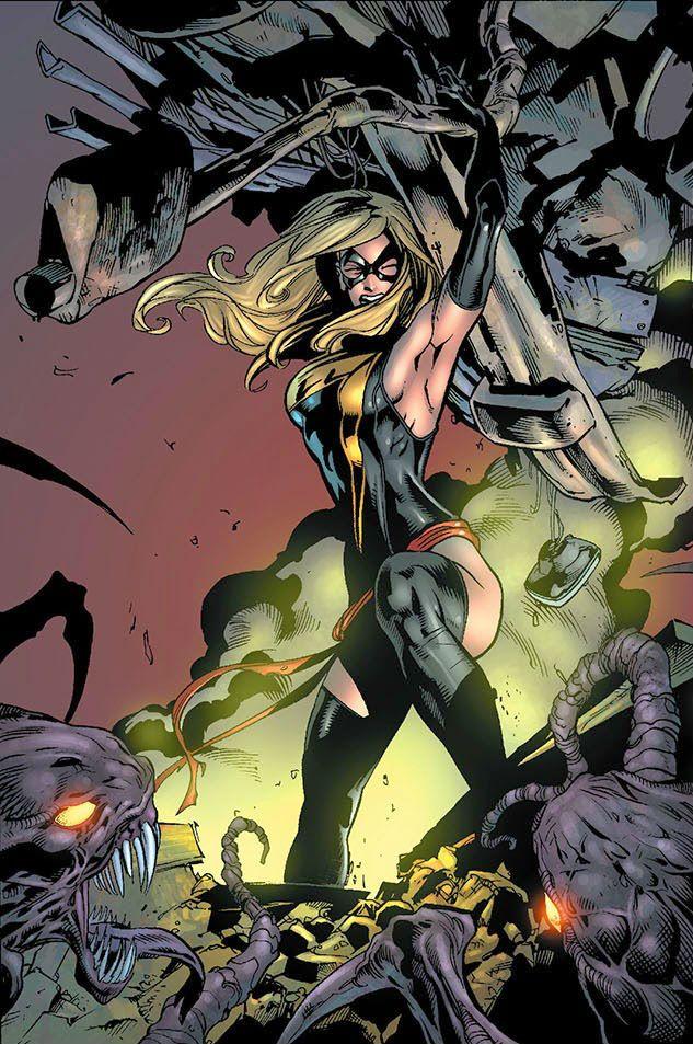 Ms Marvel (Carol Danvers) by Roberto de La Torre