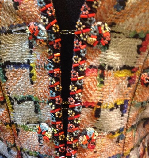 Chanel Hand-finished trim. Awesome.