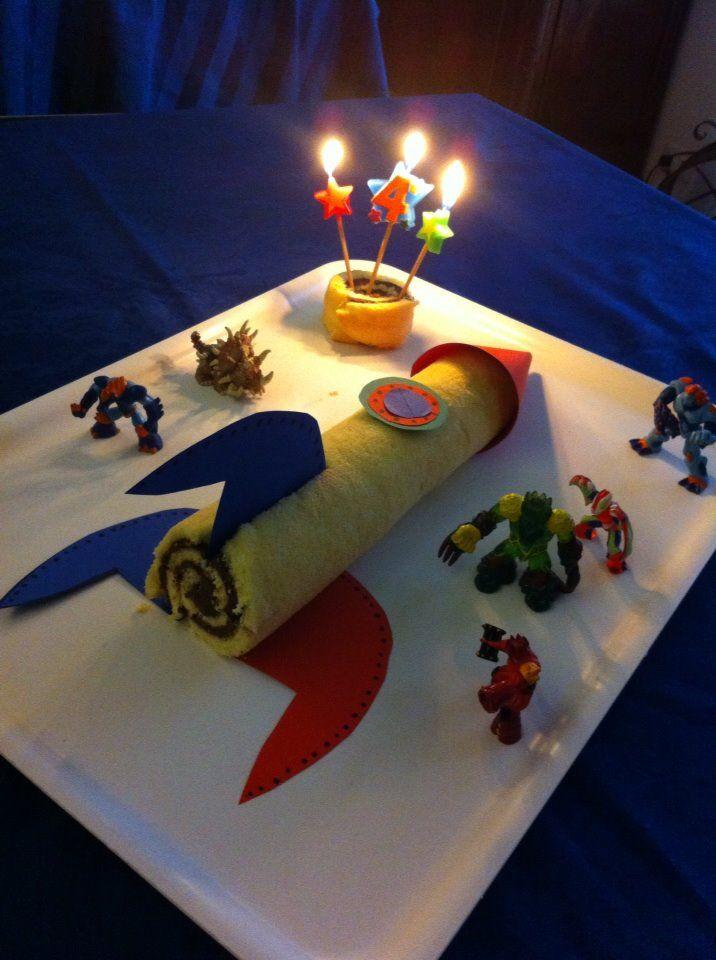 torta razzo - shuttle cake