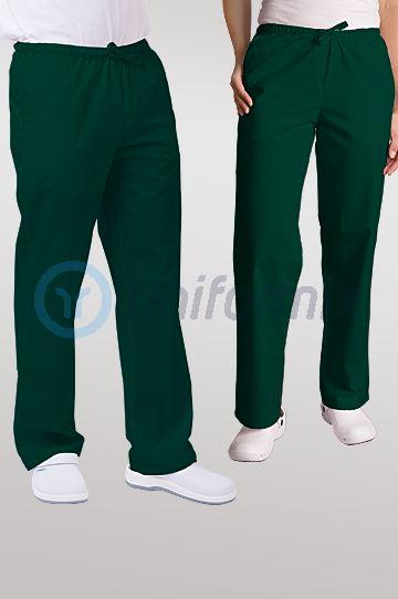 Spodnie uniwersalne, zielony ciemny. JC119.