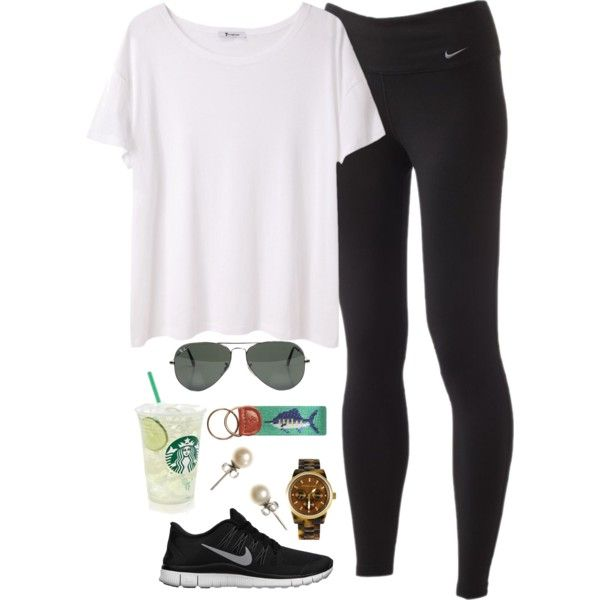 So cute yet sporty, definitely asking for nike performance tights