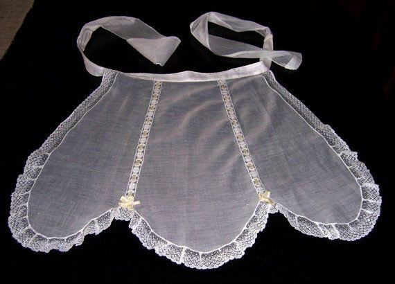 1920s French Maids Apron Vintage French Maids by HensWithoutChicks