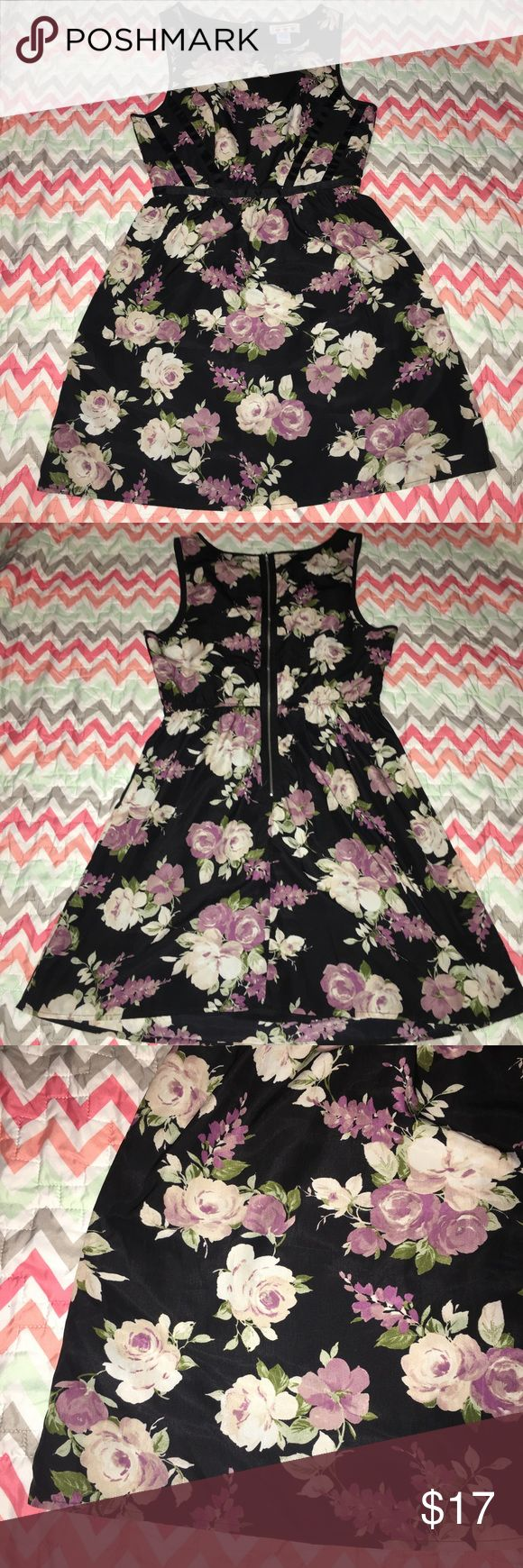 Three Pink Hearts Floral Boat Neck Dress - Size 7 PRICE is negotiable, unless otherwise stated.   Details: super cute eye catching dress. Full zipper back, unique back strap design down front boat neck Tank style. Very cute sundress double layer  ••COLOR: black/PINK  Size: 7  Brand: Three Pink Hearts   Condition: Like New   #CksOverload #ShopNow #Share #Follow #ISO #InstaShop #ForSale #NOTRADE #LookingFor  ••I do NOT TRADE••  Used items may contain piling &/or signs of wash and wear, they…