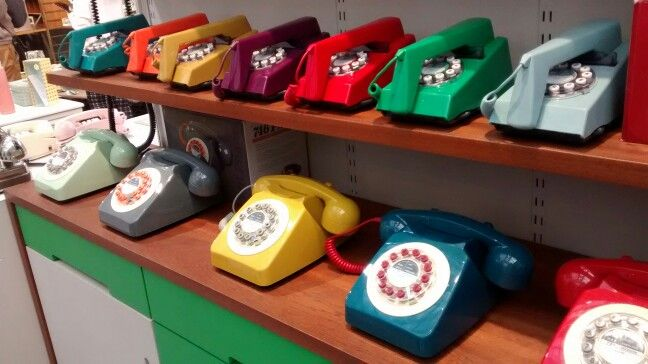 #telephone #rainbowofcolours #ring-ring #vintage #50's #60's