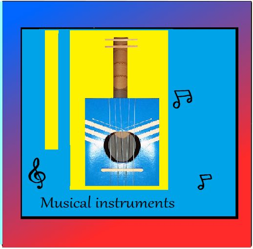 """Musical instruments --""""Bahm, Chaching,Bash,..tring, tring!!!! This  is your little one making music. Loud, sonic sounds bursting through your home...and your ears. Still the smile says everything, your child is learning and enjoying it.. Children are full of emotion and sometimes they need to let it out ,through a music drum or a song they will sing over and over and over."""