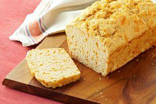 Cheesy beer batter bread (Kraft Canada)
