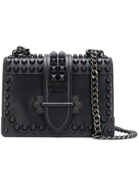 0275dcec76b6 Prada Cahier Shoulder Bag - Farfetch | garments in 2019 | Prada ...