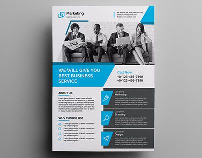 Best One Pager Images On   Corporate Flyer Business
