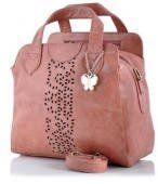 Butterflies Handbag (Peach)