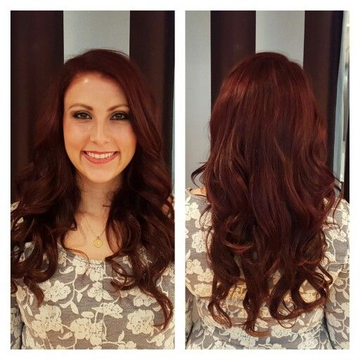 This Organic Hair Color And Halo Couture Extension Was Created By Lauren At Elle Salon