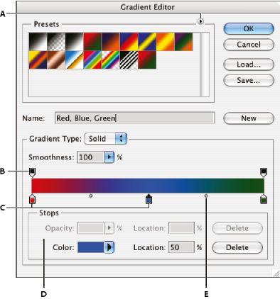 Adobe Photoshop * Gradients