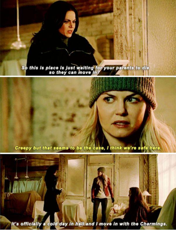 "Regina and Emma Swan - 5 * 13 ""Labor of Love"""