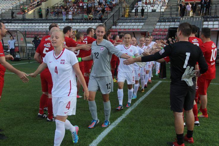 mecz z Reprezentacją Dziennikarzy. Warszawa 9.07.2013, stadion Polonii