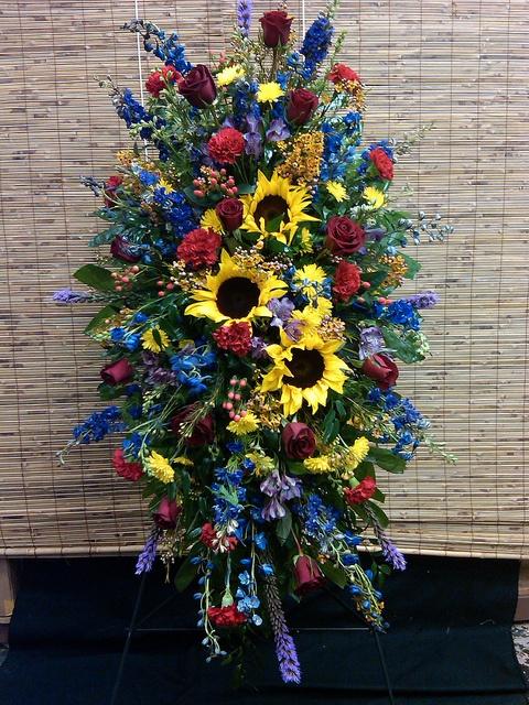 Sympathy Flowers by Flower Factor, via Flickr