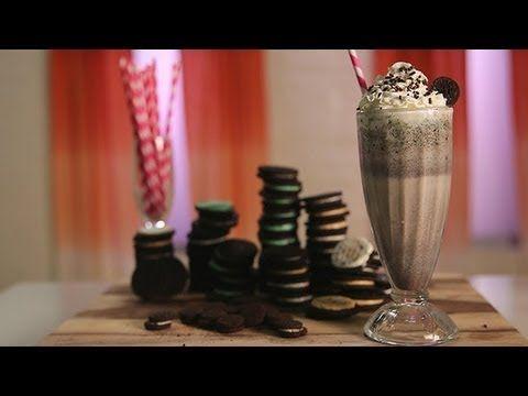 Oreo Milkshake Recipe | Dessert Ideas | Food How To - YouTube