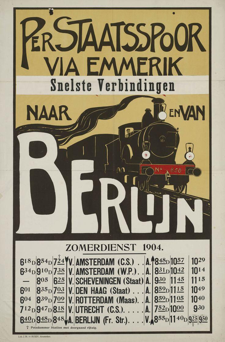 Per Staatsspoor via Emmerik Snelste verbindingen naar en van Berlijn Zomerdienst…