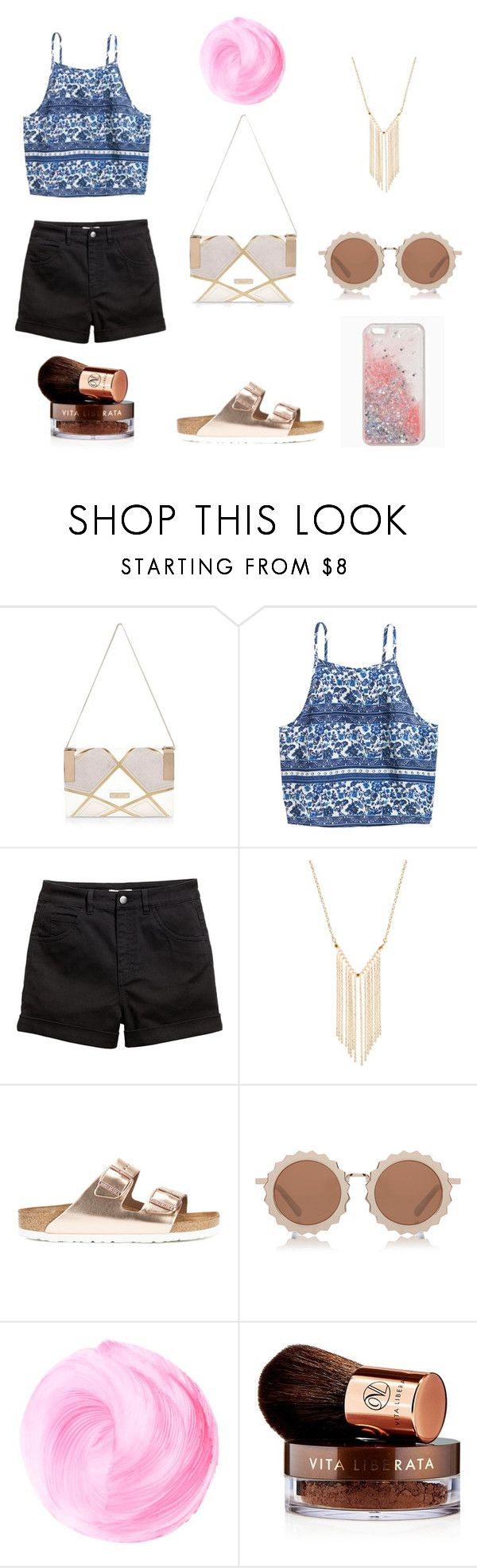 """""""How to wear a patchwork handbag"""" by sylarpembo ❤ liked on Polyvore featuring River Island, Gemelli, Birkenstock, House of Holland and Vita Liberata"""