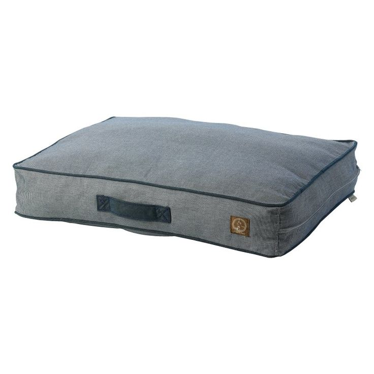 One For Pets Siesta Spanish Indoor/Outdoor Classic Pillow Bed Denim - 1808-DENIM-M