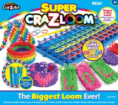 Cra‑Z‑Art Super Cra‑Z‑Loom