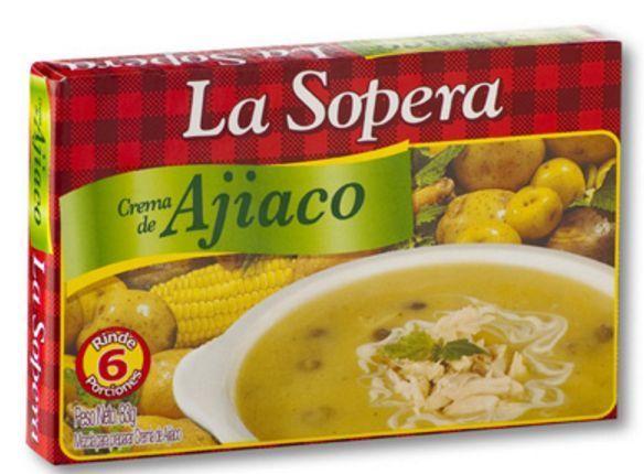 (3x Pack) La Sopera Colombian Creamy Soup Crema de Ajiaco 6 Porciones 83g
