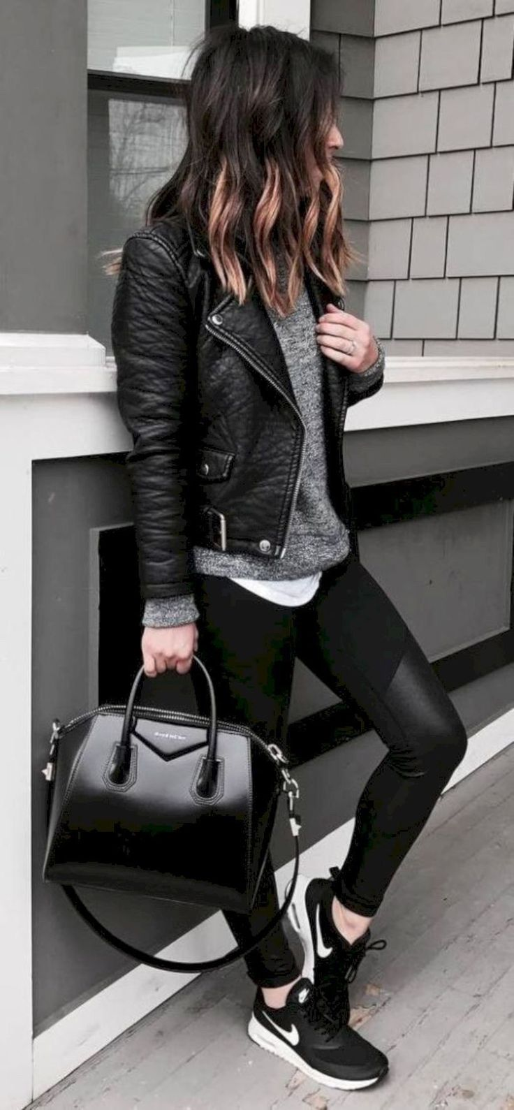 51 Stunning Casual Fall Outfit with Sneakers