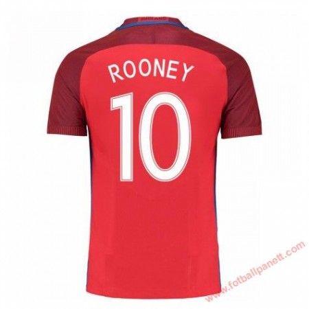 England 2016 Wayne Rooney 10 Bortedrakt Kortermet.  http://www.fotballpanett.com/england-2016-wayne-rooney-10-bortedrakt-kortermet-1.  #fotballdrakter