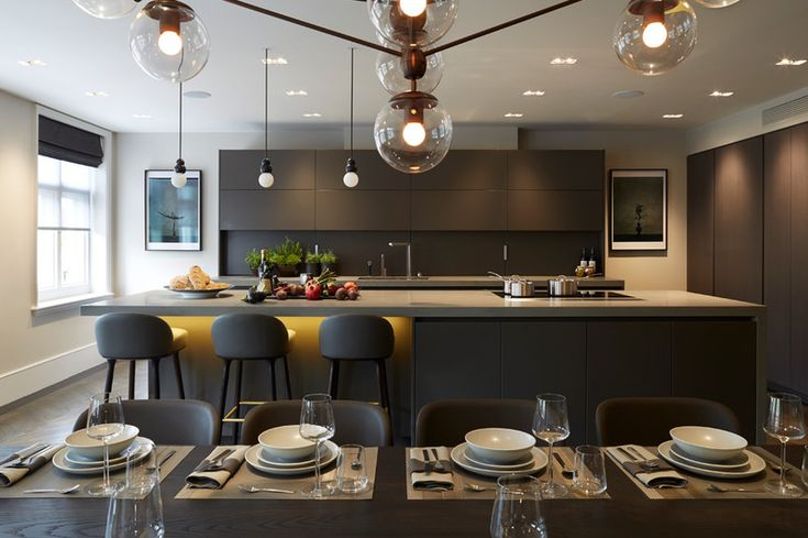 Contemporary Kitchen by Staffan Tollgard Design Group | #Kitchen - Pinned onto ★ #Webinfusion>Home ★