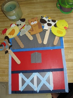 Old McDonald Had a Farm... I like that. Need to make one with my preschoolers!!
