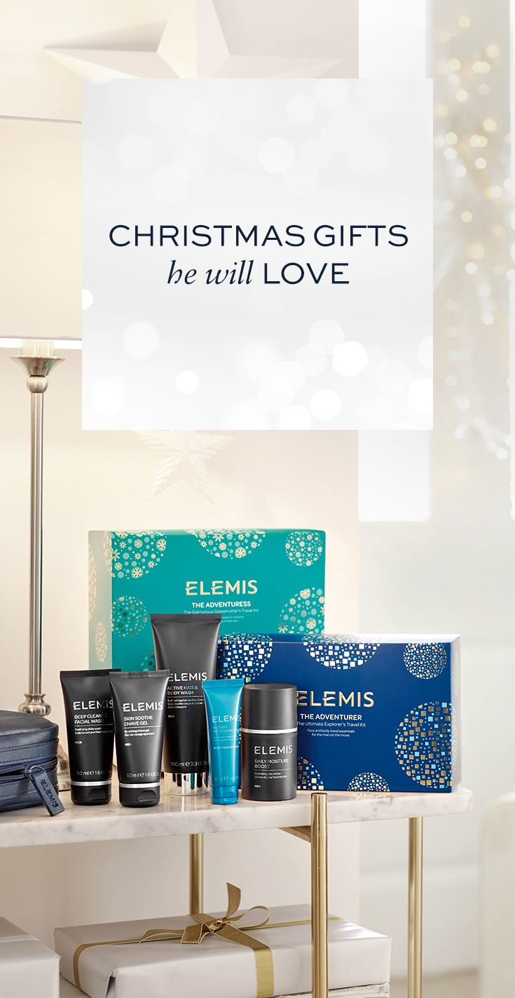 Christmas Gifts for Him. Inspired skin and bodycare that delivers results for men. Treat yourself or someone you care about to our award-winning skincare - give the gift of ELEMIS.