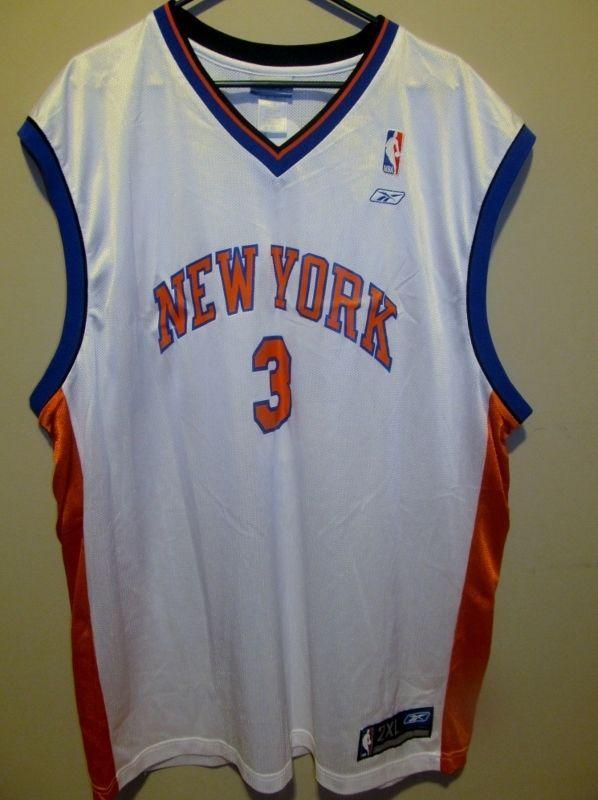 1f1e881b11d8 Stephon Marbury - New Yorks Knicks jersey - Reebok Adult 2XL  Reebok   NewYorkKnicks