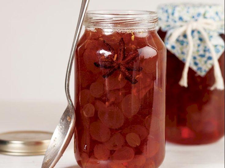 Üzüm reçeli Tarifi - Türk Mutfağı Yemekleri - Yemek Tarifleri