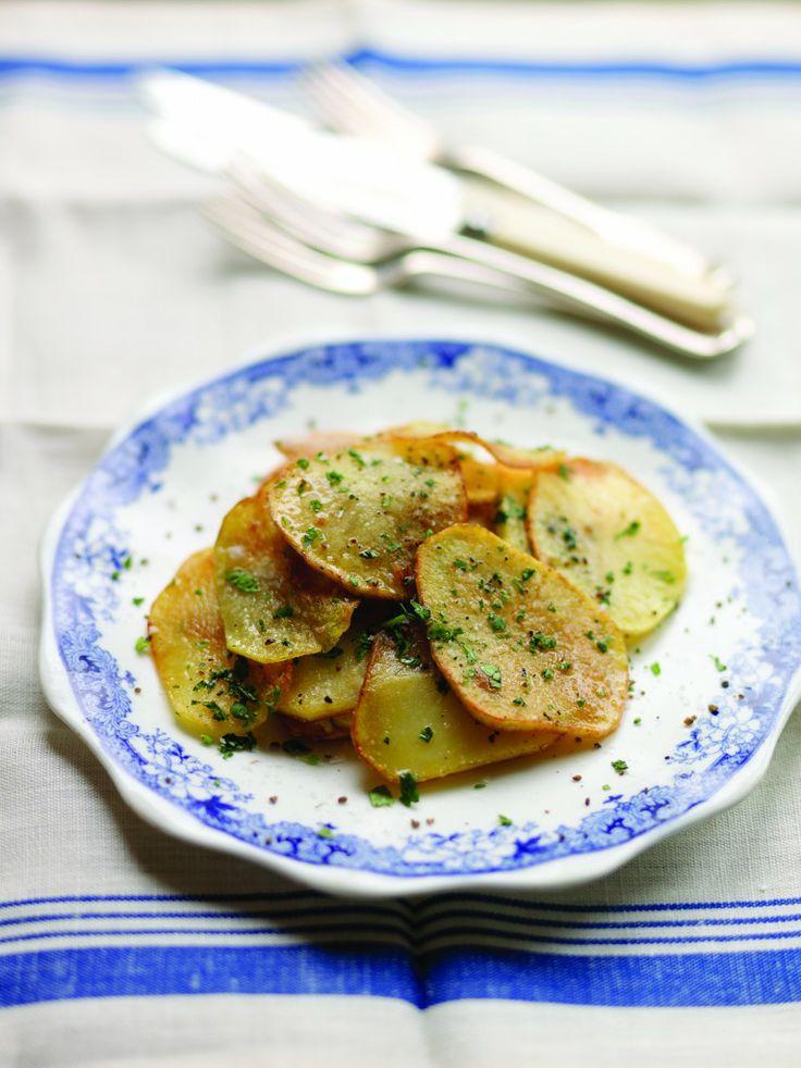 Kevin Dundon - Sauteed Garlic Potatoes