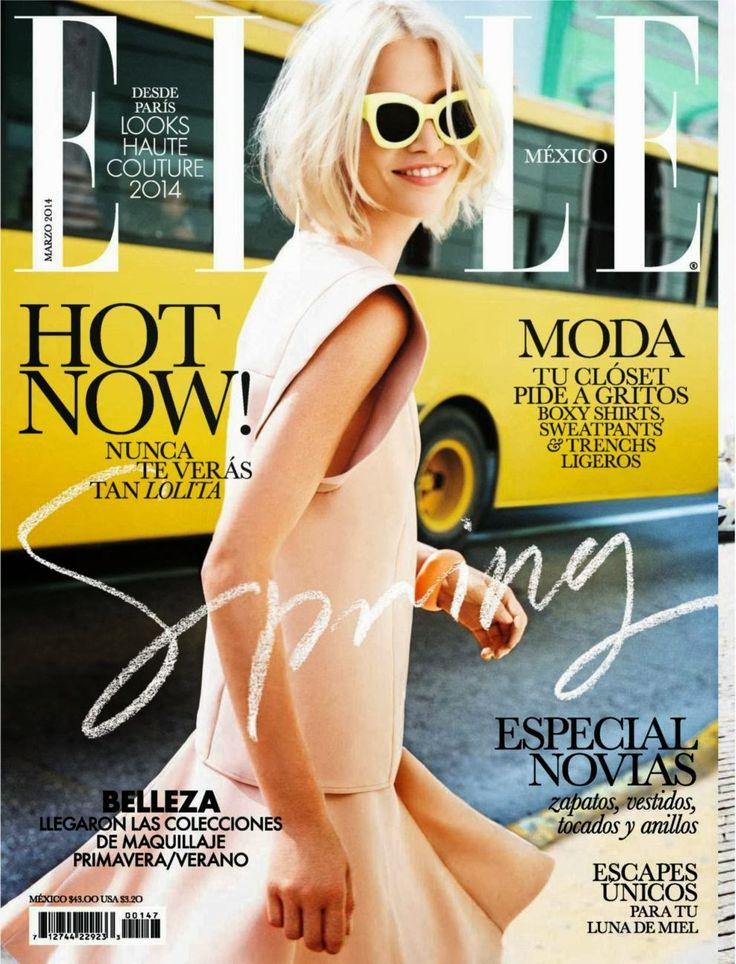 Aline Weber, Elle Magazine [Mexico] (March 2014)