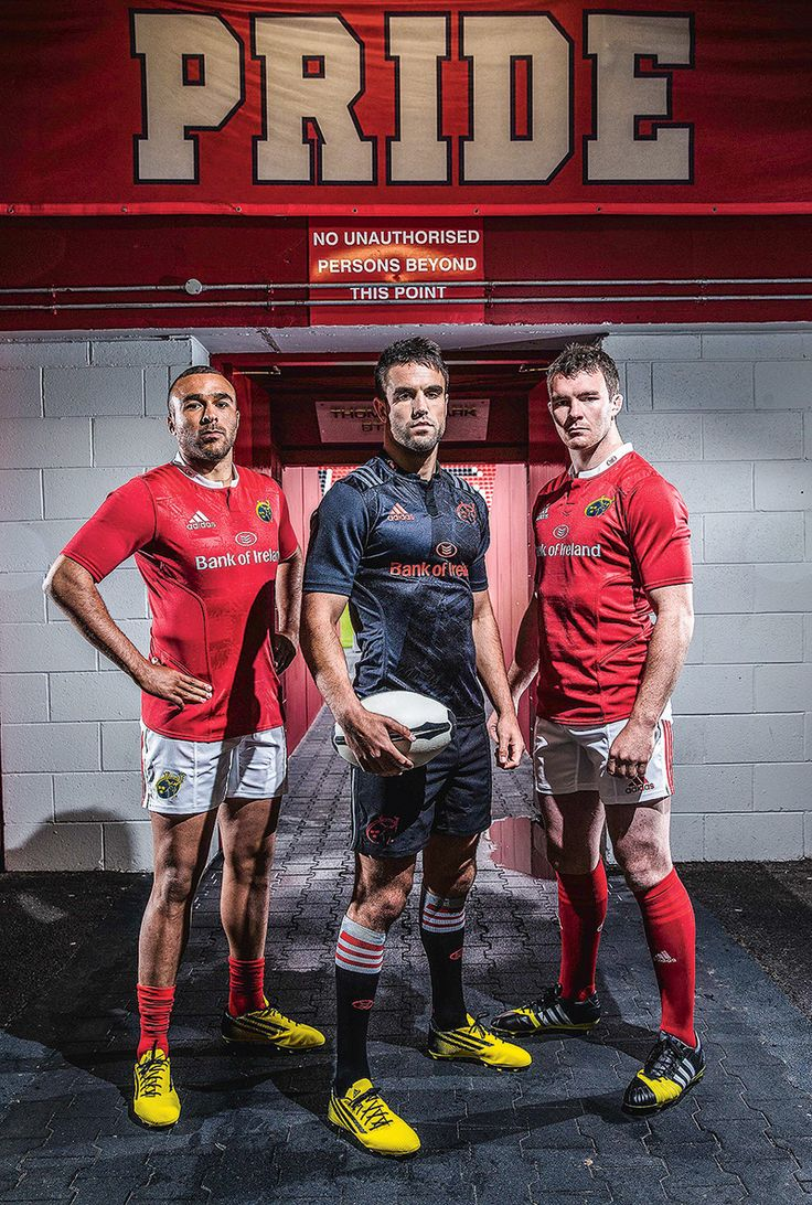 New jerseys for Munster Rugby
