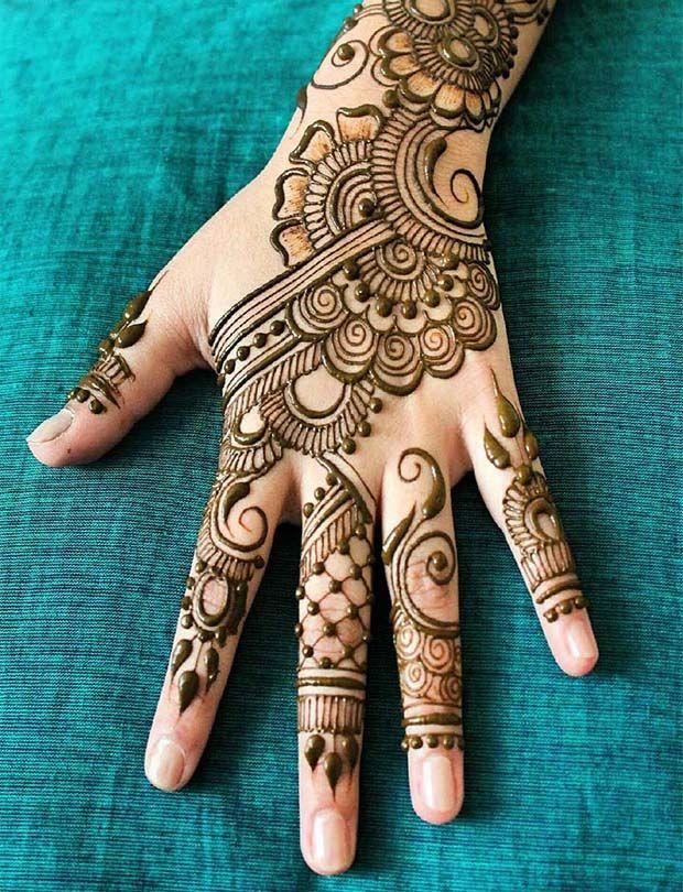 Fashionable New Style Women Henna Mehndi Designs 2019 Mehndi Designs For Beginners New Mehndi Designs Mehndi Designs For Hands