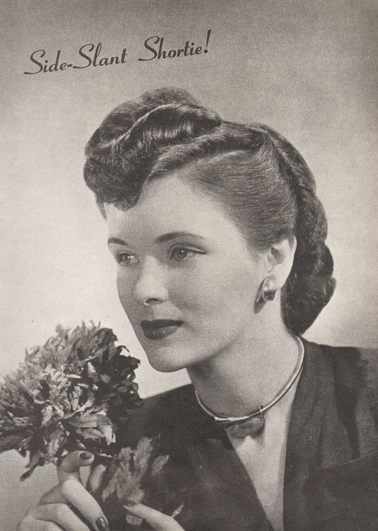 1950s hair styles 1940 s hairstyles the sidesweep craze 1945 1933