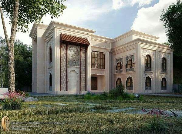 Les 80 meilleures images du tableau classic villa sur for Architecture islamique moderne