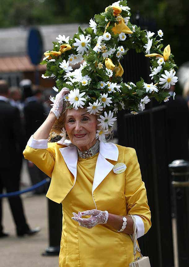 Royal Hats for Women | Royal Ascot fashion: Outlandish hats all the rage on first day of the ...