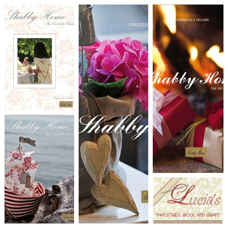 Francesca Ogliari - Shabby Home series of books. Titles include: The Enchanted Garden, The Song of the Sea, The Joy of Christmas & Beautiful Creations. All available to purchase online now!