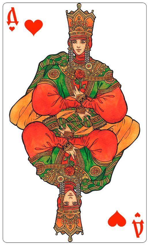 - Queen of Hearts (color) - by Losenko on DeviantArt