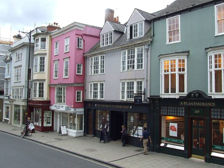 Shops in the University City of Oxford   Oxfordshire  Thanks for sharing Geoff Wilson