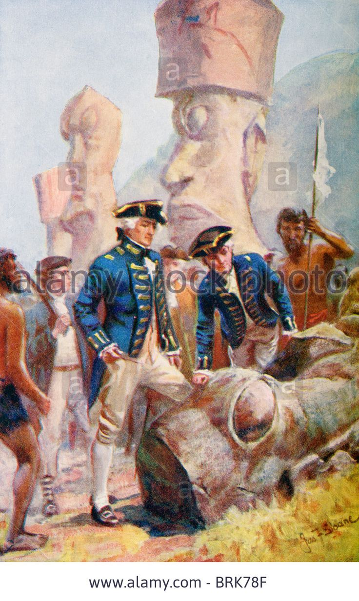 captain james cook easter island - Αναζήτηση Google ...